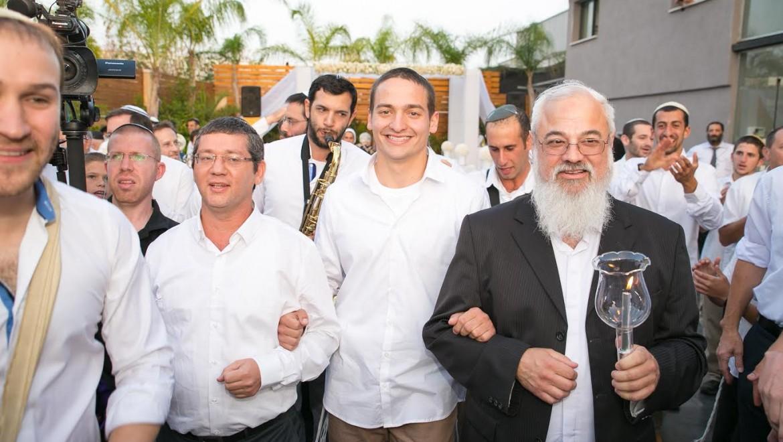 חתונת משפחות בן שמואל והרב קרוב